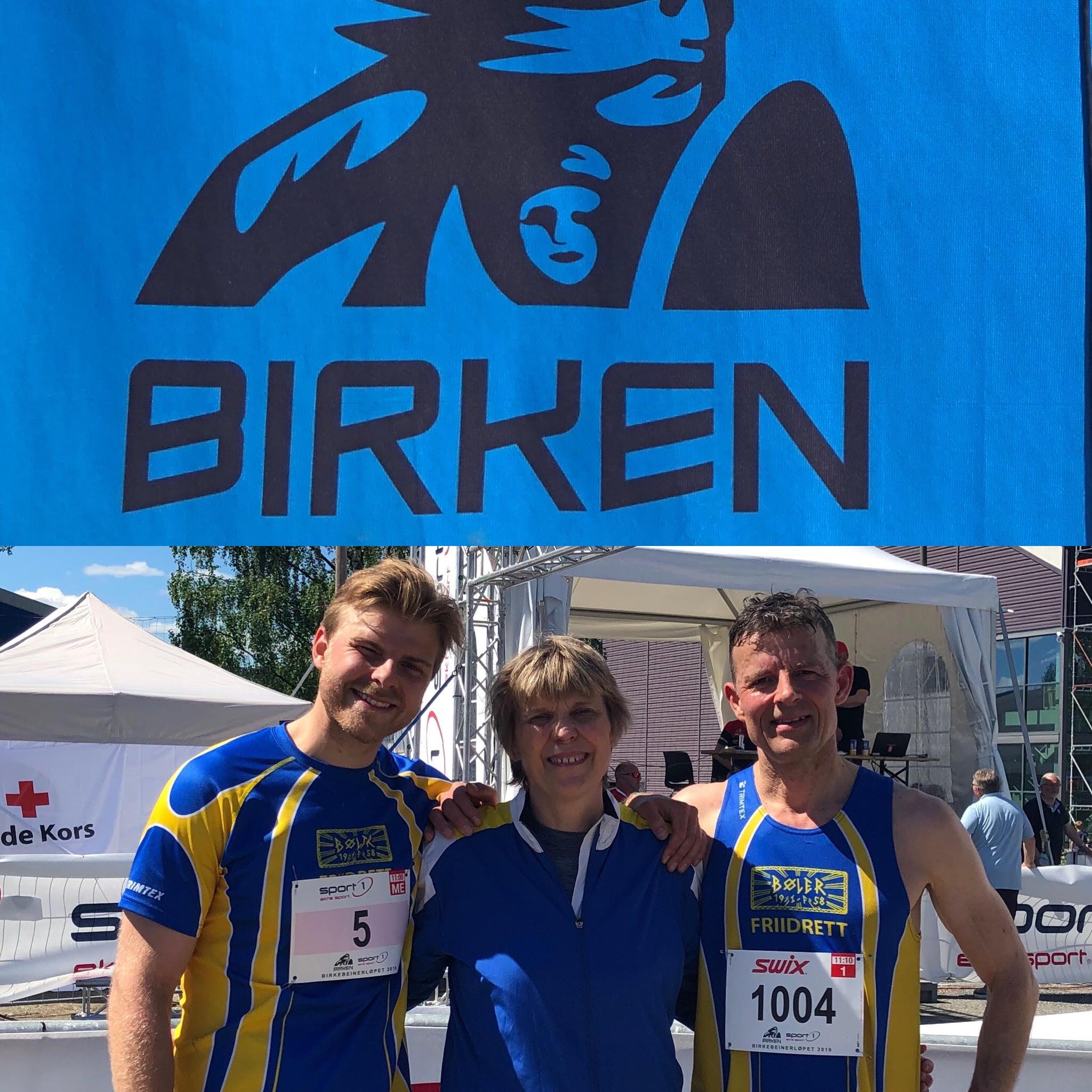 99dab36e Bøler IF Friidrett var representert i årets Birkebeiner løpsfestival med  fem deltagere på en av årets hittil varmeste dager, der mange slet i  solsteken.
